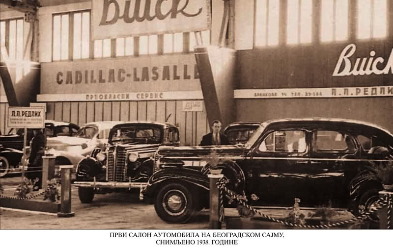 Belgrade tour, history car ahow