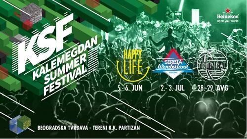 Belgrade tour, Kalemegdan Summer festival