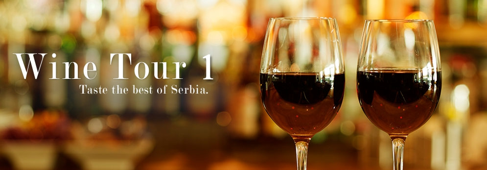 wine tasting in Serbia tour